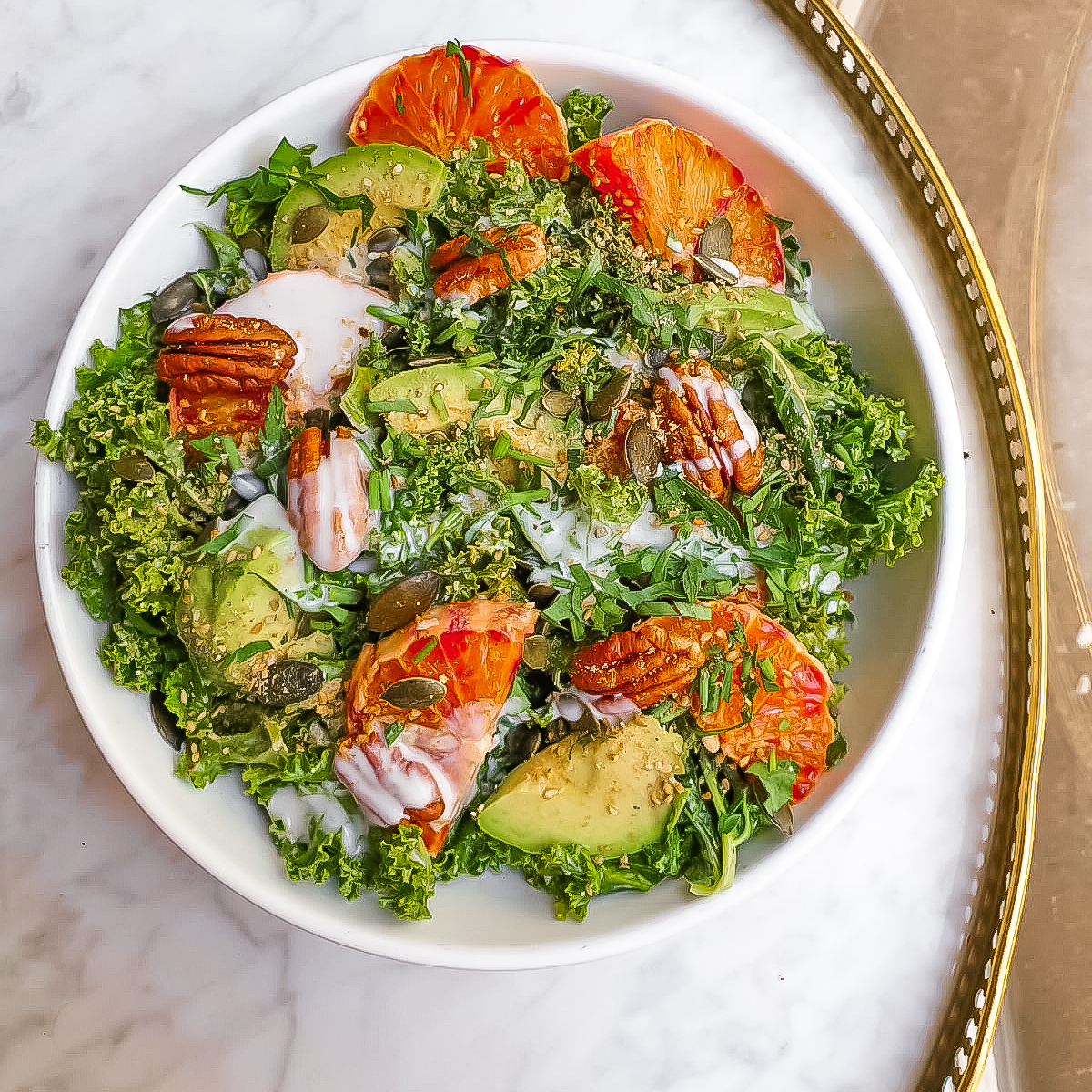 THE BEST RAW KALE SALAD