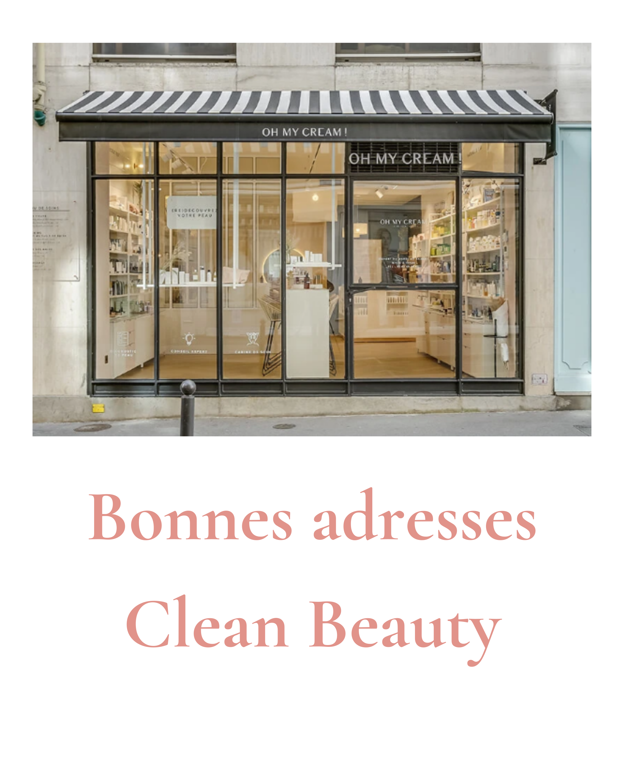 CLEAN BEAUTY – NOS BONNES ADRESSES EN FRANCE